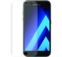 NuGlas screenprotector curved Samsung Galaxy A3 (2017)